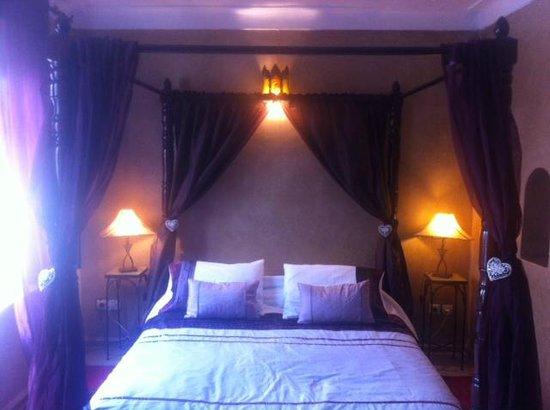 Riad Les Trois Mages: Jade room