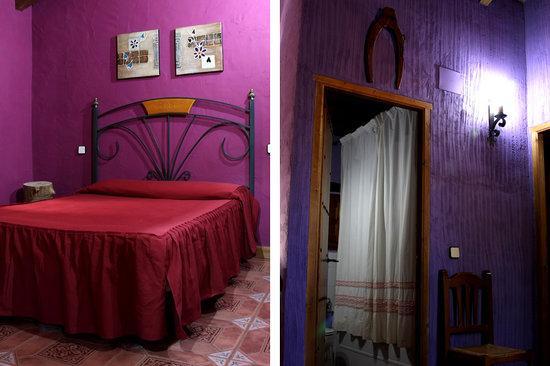 Cabañas Rurales Quijote y Sancho: Habitación matrimonio ALMENDRO