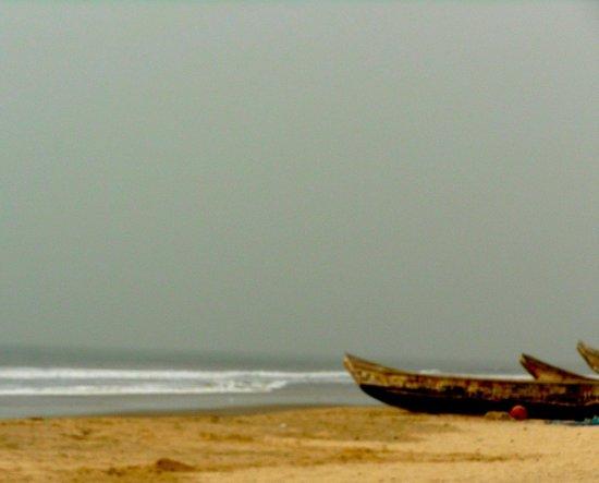 Bojo Beach: The view of ocean