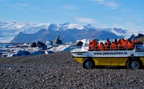 Jokulsarlon Glacier Lagoon Boat Tour Picture Of Iceland Road Trip