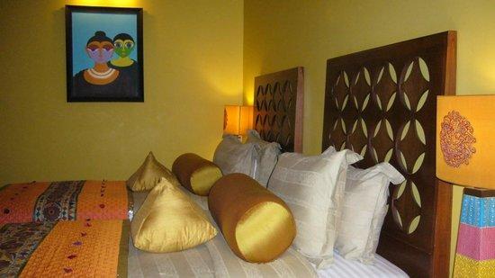 juSTa Rajputana, Udaipur Resort: Chambre bien jolie 3