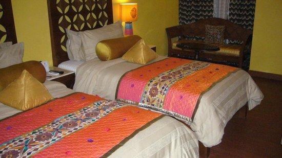 juSTa Rajputana, Udaipur Resort: Chambre bien jolie 2