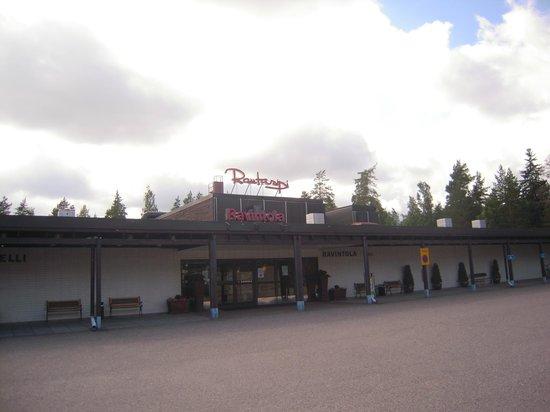 Spahotel Sveitsi: Главный вход