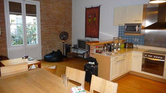Il soggiorno,sala colazione open space - Picture of Nisia Bed ...