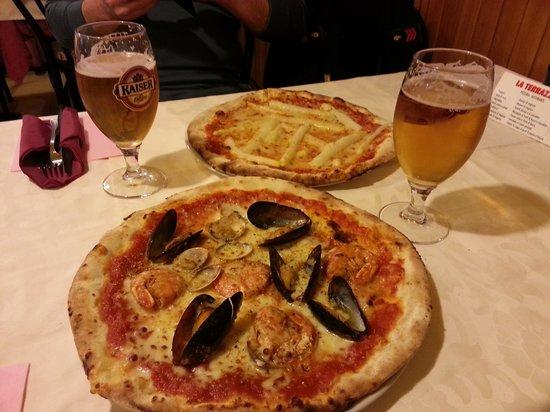Pizza Allo Scoglio - Foto di Pizzeria la Terrazza, Bassano Del ...
