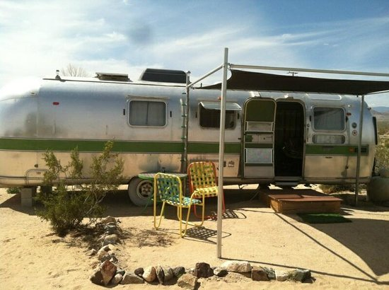 Kate's Lazy Desert: our airstream