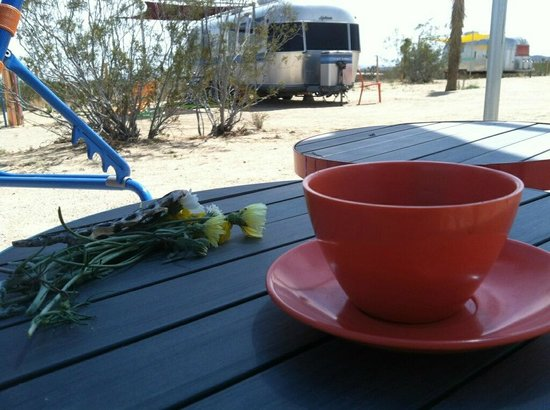 Kate's Lazy Desert: our morning coffee