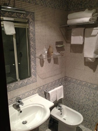 Serena Hotel : Bagno essenziale