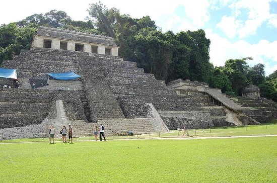 National Park of Palenque: руины