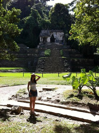 National Park of Palenque: вход
