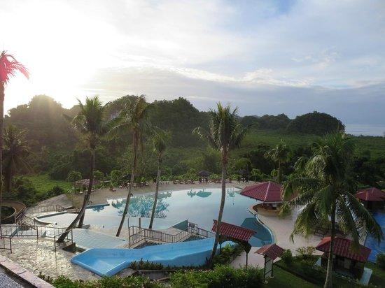 Airai Water Paradise Hotel & Spa : 部屋からのビュー