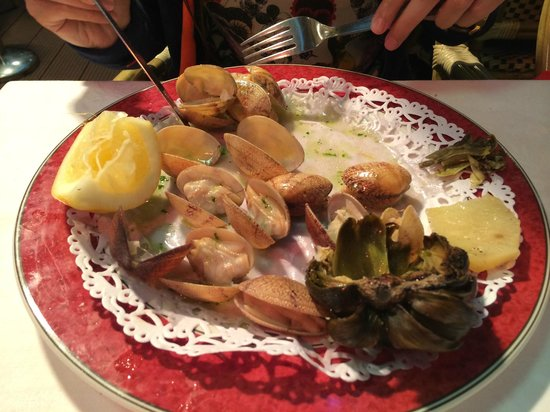Restaurante Salamanca: MİDYE
