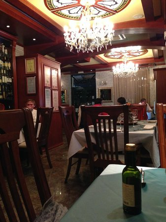 Montenegrino Hotel: Dining room with restaurant entrance far end