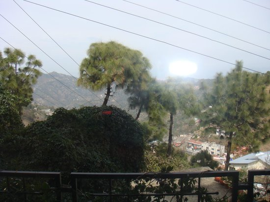 Kasauli Castle: view from room