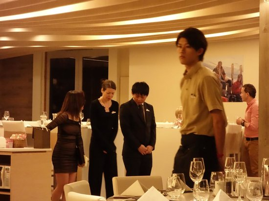 One of the Excellent GO from French and Local Nice Japanese Waiter