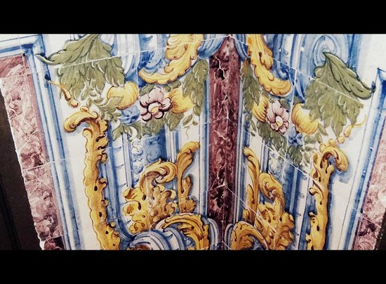 Palacio Ramalhete: Decorative tiles