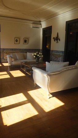Palacio Ramalhete: Lounge area