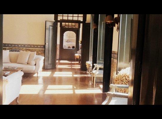 Palacio Ramalhete: Lounge in afternoon
