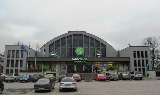 Kalev Spa Hotel & Waterpark: С улицы