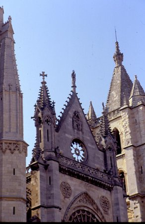Catedral de León - Santa María de Regla: facciata cattedrale di Leòn II