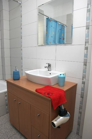 Bed & Breakfast Praca De Espanha: a view of shared bath