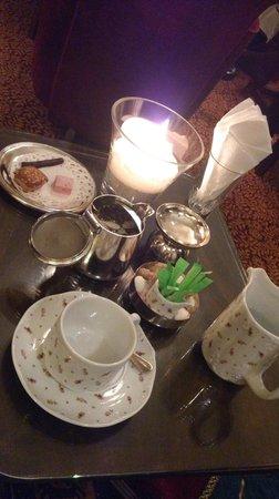 Ti al Lannec Hotel Restaurant & Spa : bar infusion