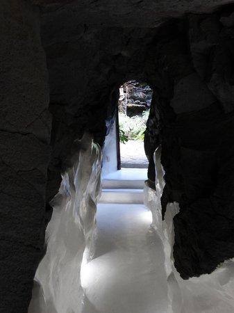 Fundación Cesar Manrique : like an ice cave!