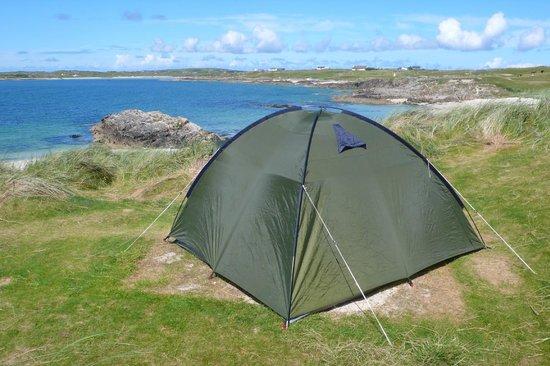 Clifden ecoBeach Camping & Caravanning Park: Unser pitch