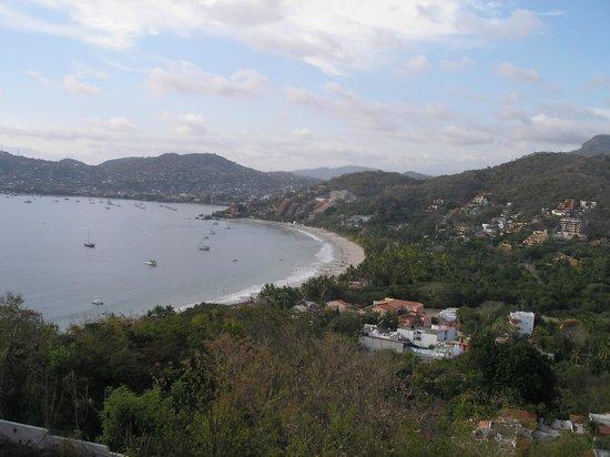 Vue panoramique de la terrasse de La Escollera