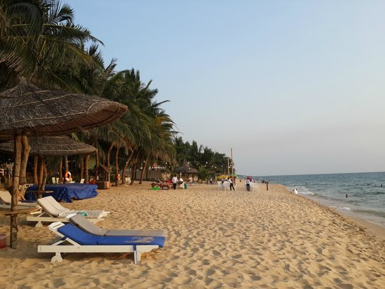 Thien Hai Son Resort: Plage