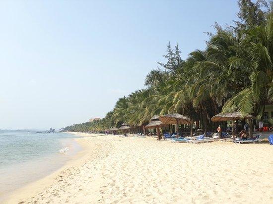 Thien Hai Son Resort: Plage