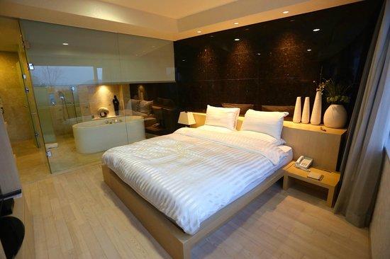 The Suites Hotel Gyeongju: bedroom