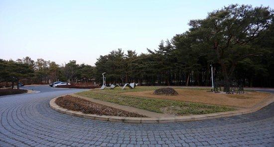 The Suites Hotel Gyeongju: entrance