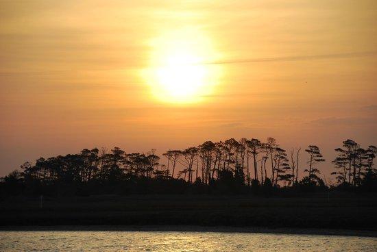 Chincoteague National Wildlife Refuge: sunrise