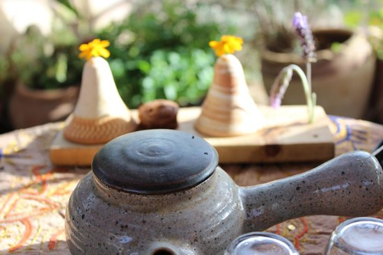 Goats with the Wind Restaurant : ароматный чай и  десерт