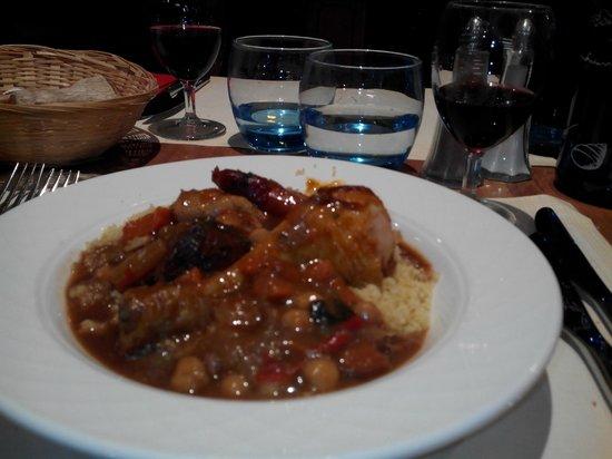 Hotel Ibis Site du Futuroscope: Couscous