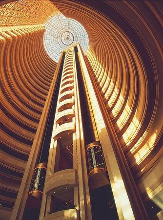 Hotel Santiago: Interior del edificio