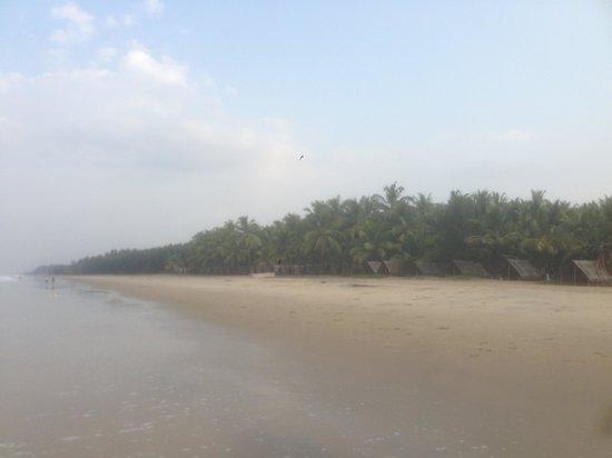 Kadappuram Beach resort: Strand