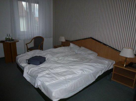 Hotel Residenz Leipzig : Prettige bed