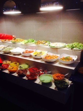 Mirpuri Dhera: Lovely salads and pickles