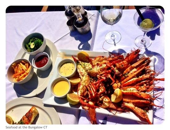 The Bungalow: seafood platter