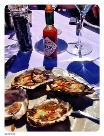 The Bungalow: oysters