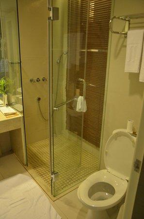 Jinjiang MetroPolo Hotel Classiq Shanghai Peoples' Square : Shower