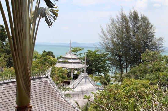 Amari Vogue Krabi : vue de l'entrée de l'hotel