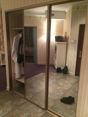 Boutique-Hotel Khabarovsk City: Прихожая в люксе