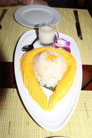Amari Vogue Krabi : riz coco mangue... restaurant lotus de l'hotel