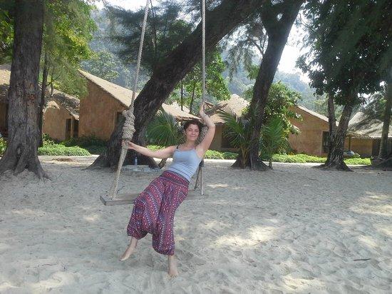Flora I Talay Resort: Вид на бунгала со стороны пляжа