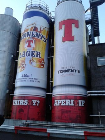 Tennents Wellpark Brewery: The Perfect Picture