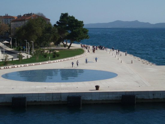 Success Luxury Accommodation: Zadar - Sea Organs, shines the Greeting to the Sun