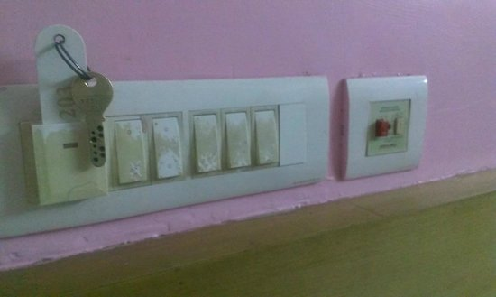 Samudra Residency: Dirty switches